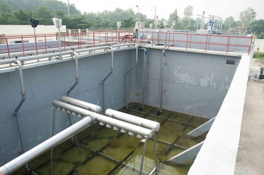 Chất thải công nghiệp gây ô nhiễm nguồn nước